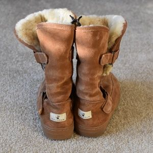 BearPaw Faux Fur Boots